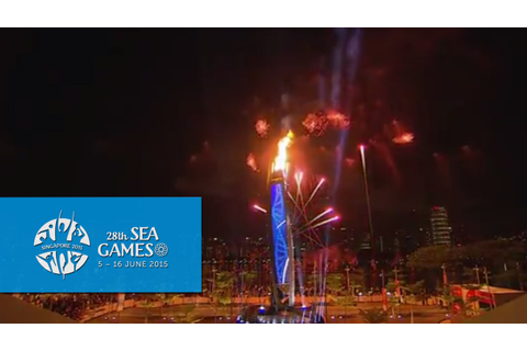 Torch Relay | 28th SEA Games Singapore 2015 - YouTube