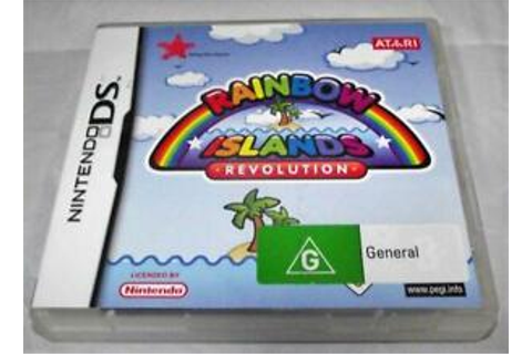 Rainbow Islands Revolution Nintendo DS 2DS 3DS Game ...