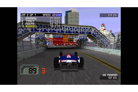 CART World Series ... (PS1) 60fps - YouTube