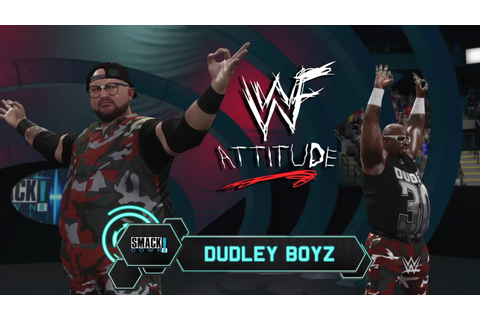 WWE 2K17 - WWF Attitude Era Custom Music & Attires - YouTube
