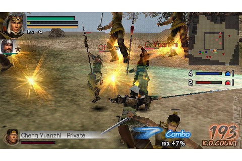 Screens: Dynasty Warriors Vol. 2 - PSP (21 of 43)