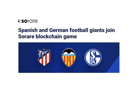 Spanish and German football giants join Sorare blockchain ...