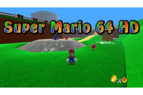Super Mario 64 HD Gameplay - YouTube