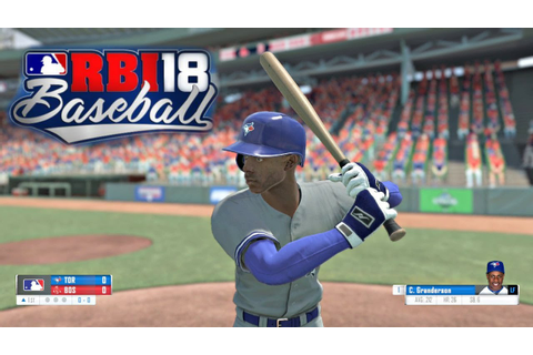 R.B.I. Baseball 18 Gameplay Boston Red Sox vs Toronto Blue ...