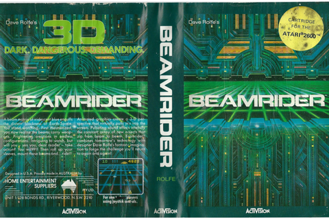 Atari 2600 VCS Beamrider : scans, dump, download ...