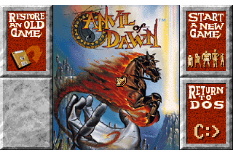 Anvil of Dawn (1995) by DreamForge Intertainment MS-DOS game
