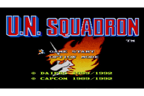 U.N. Squadron (SNES) - Good Game #001 - YouTube