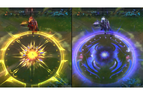 Solar Eclipse Leona vs Lunar Eclipse Leona Skin Comparison ...