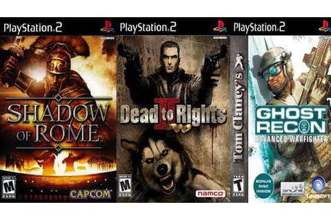 PS2: Shadow of Rome,Dead to Rights 2, Ghost Recon 2. - YouTube