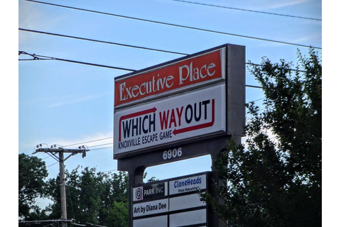 Which Way Out - Knoxville Escape Game - Escape Games ...