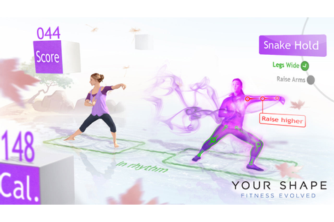 VG-Reloaded Review: Your Shape: Fitness Evolved (Xbox 360 ...