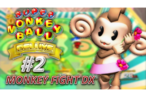 Super Monkey Ball Deluxe - Fight (Party Game) - YouTube
