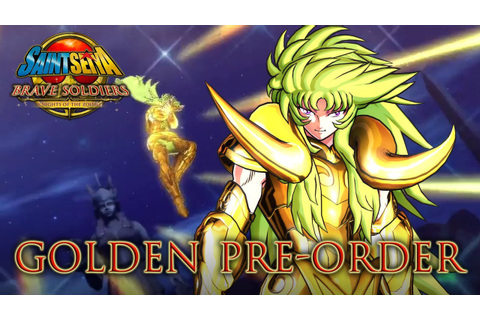 Saint Seiya Brave Soldiers - PS3 - Golden Pre-order ...