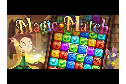 Android Magic Match - Match 3 Game - YouTube