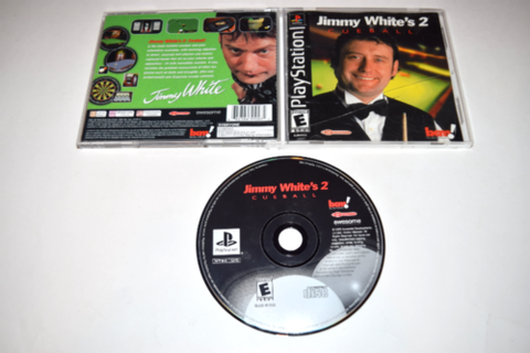 Jimmy White's 2 Cueball Playstation PS1 Video Game ...