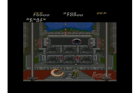 Oretachi Game Center: Contra PlayStation 2 - YouTube