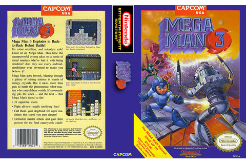 Video Game Log and History: Mega Man 3 (November 1990)