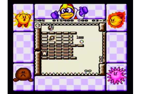 Kirby's Block Ball (GB) - Quick Hits - YouTube
