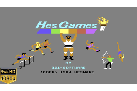 Hes games - C64 full playthrough - YouTube
