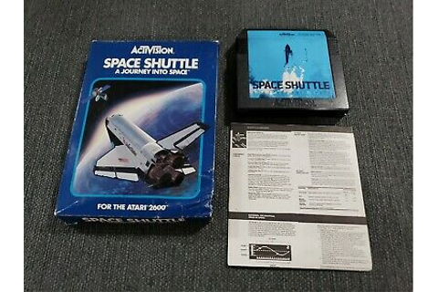 Space Shuttle: A Journey Into Space (Atari 2600, 1983 ...