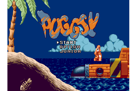 Captain Williams =/\= | SEGA Mega Drive/Genesis | Puggsy ...