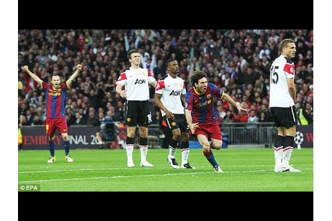 Manchester United vs Barcelona 1-3 - UCL FINAL 2011 -HD ...