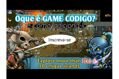 TibiaMe GAME CODE como USA-LO no JOGO - YouTube