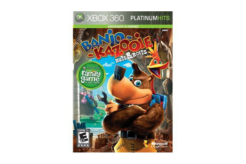 Banjo-Kazooie: Nuts & Bolts Platinum Hits Xbox 360 Game ...
