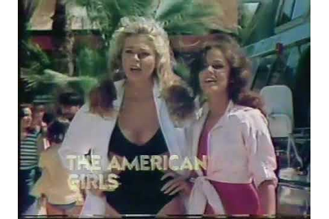 The American Girls 1978 CBS Turn Us On Series Premiere ...