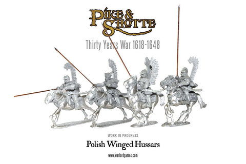 Preview: Polish Winged Hussars - Warlord Games