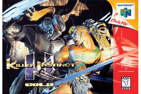 killer instinct gold n64 | Video Games | Pinterest