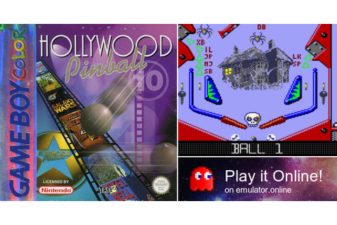 Play Hollywood Pinball on Game Boy