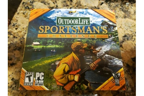 OUTDOOR LIFE SPORTSMAN'S CHALLENGE PC CD BRAND NEW FREE ...
