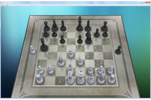 Playing chess games with my Dell SX2210T multi-touch ...