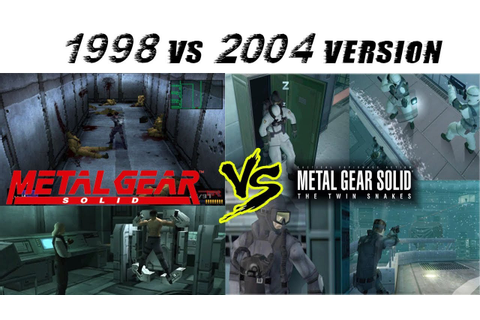 Metal Gear Solid vs Metal Gear Solid The Twin Snakes ...