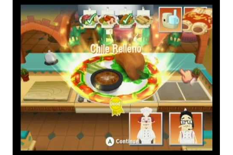 Wii Order Up - El Fuego! - YouTube