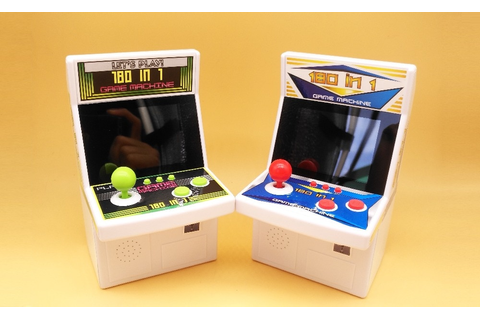180 in 1 Rertro Mini Arcade Game Console Handheld Game ...