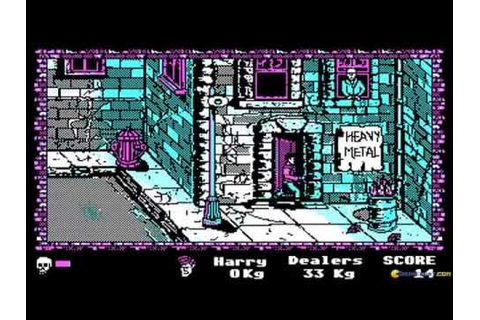 Manhattan Dealers gameplay (PC Game, 1988) - YouTube