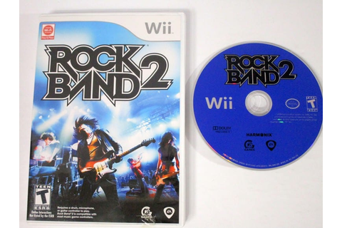 Rock Band 2 (game only) game for Wii | The Game Guy