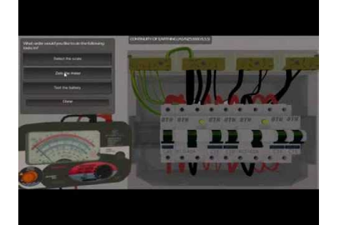 Electrotechnology Training Simulation - Virtual Sparky ...
