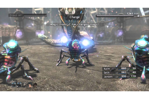 Lost Odyssey Xbox 360 Gameplay - Battle (HD) - YouTube