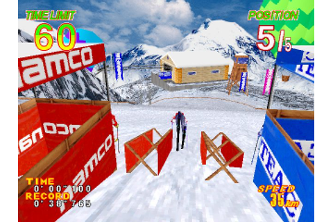 Alpine Racer 2 (1996) by Namco Arcade game