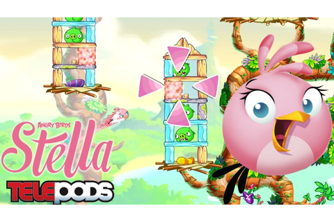 Angry Birds Stella Game-Play & Telepods - YouTube