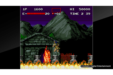 Arcade Archives HAUNTED CASTLE on PS4 | Official ...