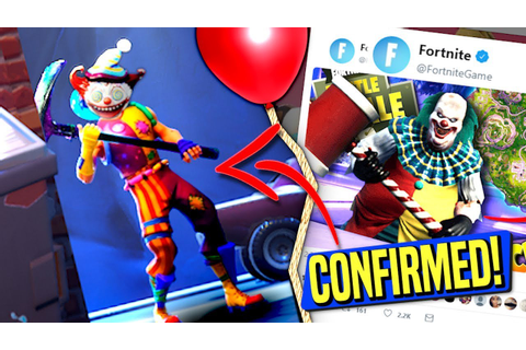 *CONFIRMED* EPIC GAMES FINALLY CONFIRMS CLOWNS IN FORTNITE ...