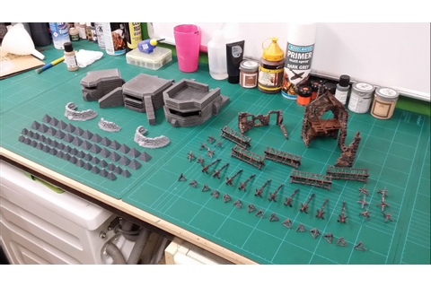 Warlord Games Bolt Action Terrain Product Overview - YouTube