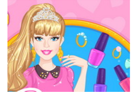 Barbie Prom Nails Designer - Play The Free Game Online
