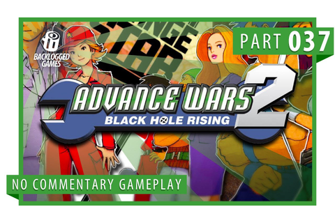 Advance Wars 2: Black Hole Rising │ Part 37: Gameplay ...