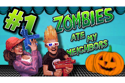 Zombies Ate My Neighbors - Deadbeats - Ep.1 - VIDEO GAME ...