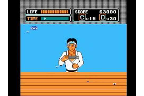 NES The Karate Kid (No Deaths) - YouTube